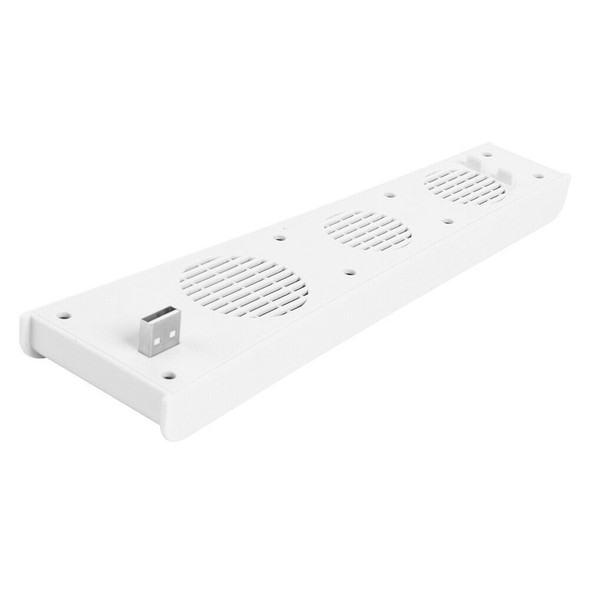 3-Fan USB Cooler for PS5 PlayStation 5 / 5 Digital Edition Console White A#S
