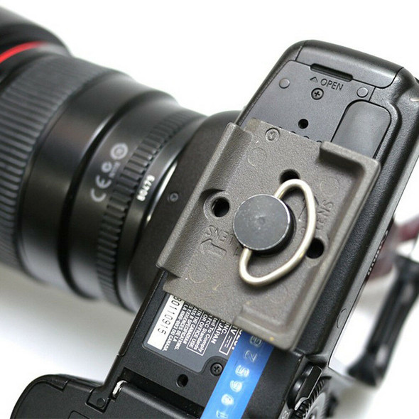 For Manfrotto 200PL-14 323 System Tripod Quick Release Plate Clamp Adapter Hot