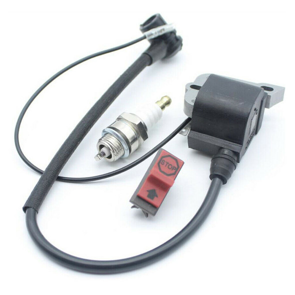 Pack of Ignition Coil Spark Plug On Off Switch for  Engine Parts