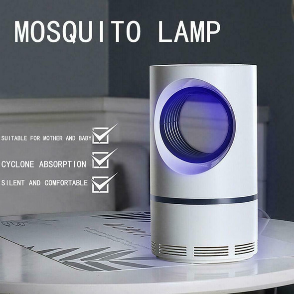 Electric Fly Bug Mosquito Insect Killer Pest Control Lamp LED Light Trap