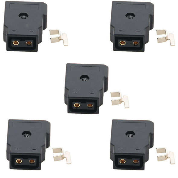 5x Female D-Tap Plug Connector Adapter for Anton V Lock Battery Power Cable