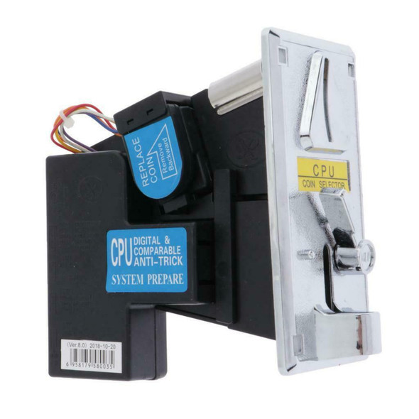 Coin Mech Acceptor Selector Replacement Parts for Vending Machine, Laundromat,