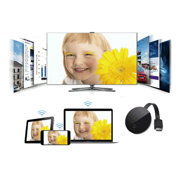 G7S 2.4G WiFi Display Dongle 4K Ultra HD HDMI Adapter Video Receiver for TV
