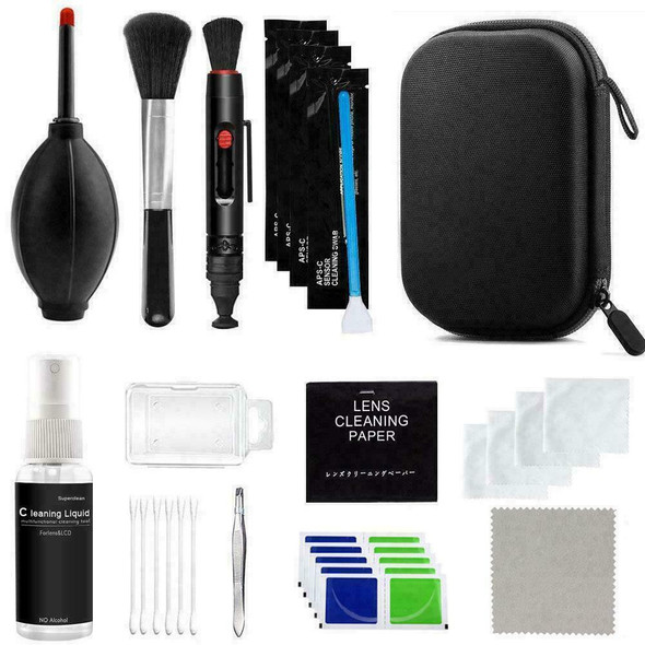 9 in-1 Professional Lens Cleaning kit Tool For Canon New DSLR Nikon Ca G1L3