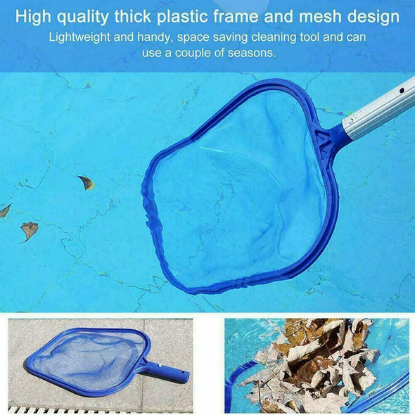 New Maintenance Pool Skimmer Net Pool Vacuum Swimming Stable Cleaning Pool T1Y7
