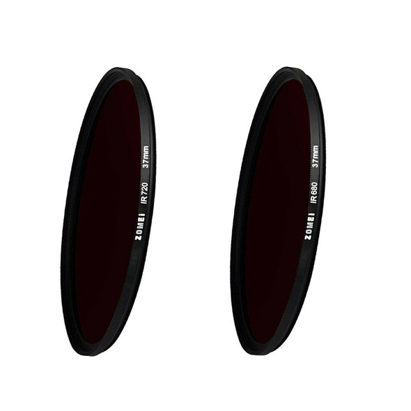 Zomei 37mm Infrared 680nm+720NM X-Ray IR Filter Lens for Nikon DSLR Cameras