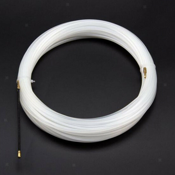 4mm 98ft Cable Puller Fish Tape Nylon Duct Conduit Guide Wall Through Tool