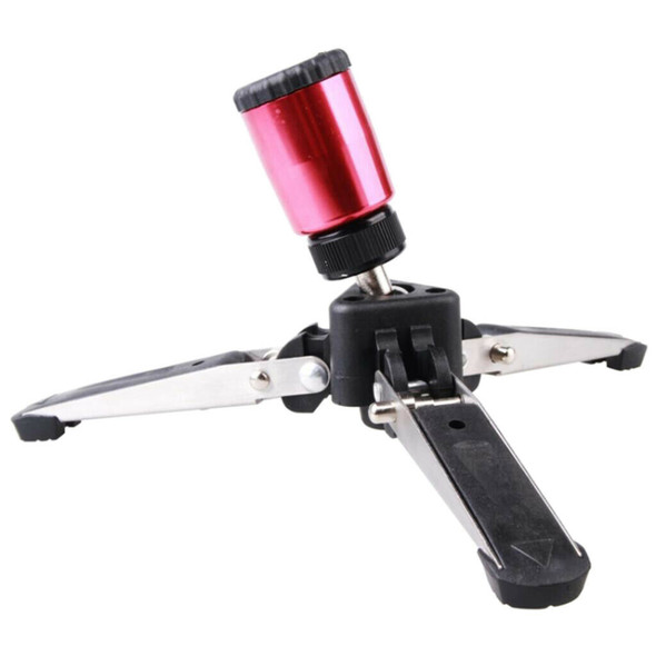 "3/8"" Screw Aluminum 3 Legs Monopod Base Stand for Canon Nikon Photography"