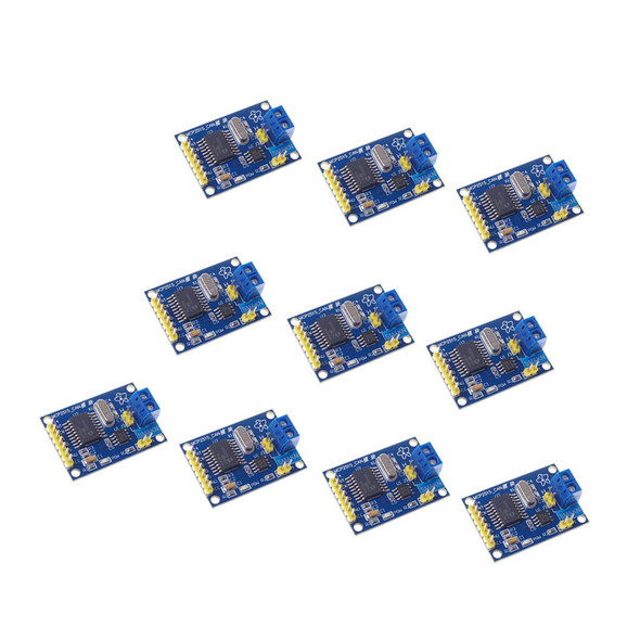 10 Pieces MCP2515 Module CAN Bus Module TJA1050 Receiver SPI For
