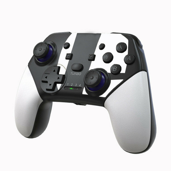 Wireless Bluetooth Joystick for Switch Pro Controller Gamepad (White) A#S
