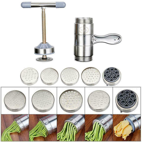 Stainless Steel Household Manual Pasta Machine Cranked Tool Maker Home Nood X0O4