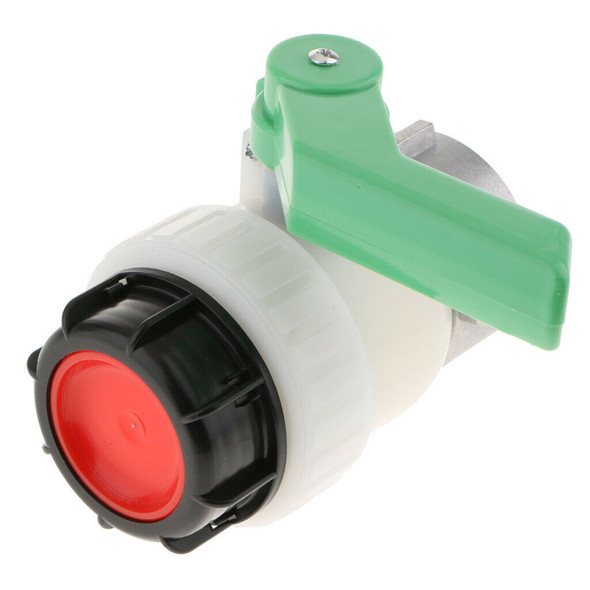 2Inch 1000L IBC Water Tank Screwable Ball Valve HDPE BSP DN50 Inlet Dia 62mm