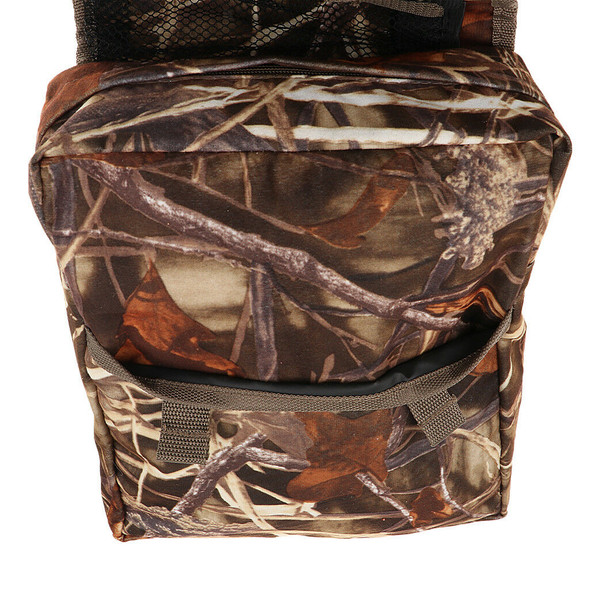 Motorcycle Tank Saddle Bag for Pit Quad Bike ATV Snowmobile Scooter CAMO