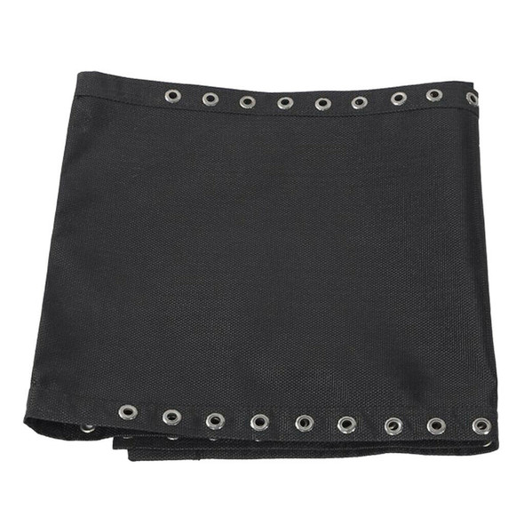 Replacement Fabric Cloth and Laces for Garden Lounge Bench Chairs Black