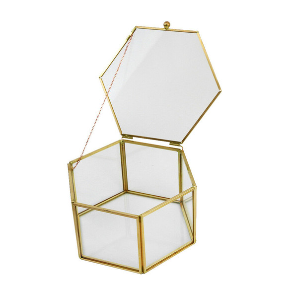 Geometric Terrarium Flower Succulent Plant Planter Pot Box Home Decor #4