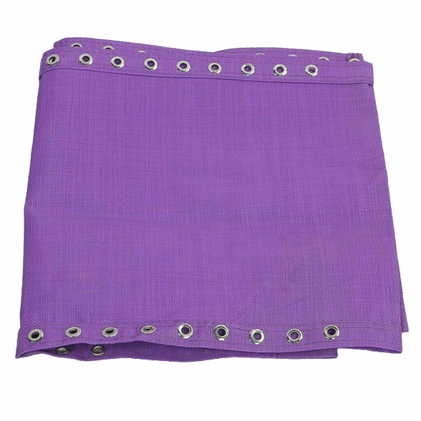 Replacement Fabric Cloth and Laces for Garden Lounge Bench Chairs Purple