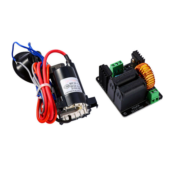 High Voltage Tesla ZVS Coil Controller Board + Ignition Coil for SGTC/Marks