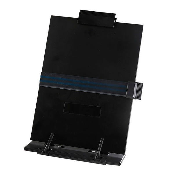 Desktop Document Holder Computer Typing Stand with Removable Clip Line Guide