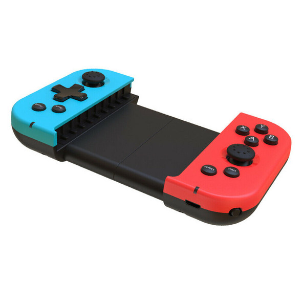 X6 Telescopic Bluetooth Game Controller Wireless Gamepad for PUBG Mobile