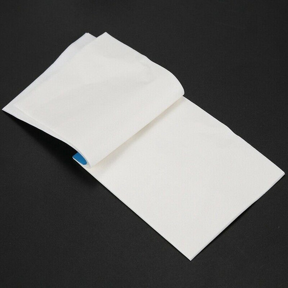 1 Booklet 50 Pcs 10cm x 7.5cm White Soft Cleaning Paper Tissue for Camera L