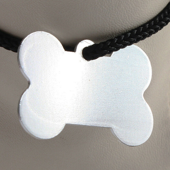 38MM Personalized Customised Pet Puppy Dog Cat Animal Name ID Tags for Coll