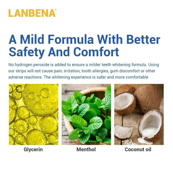 Lanbena Daily Bamboo Charcoal Repair Whitening Teeth Tooth Tooth Removal To