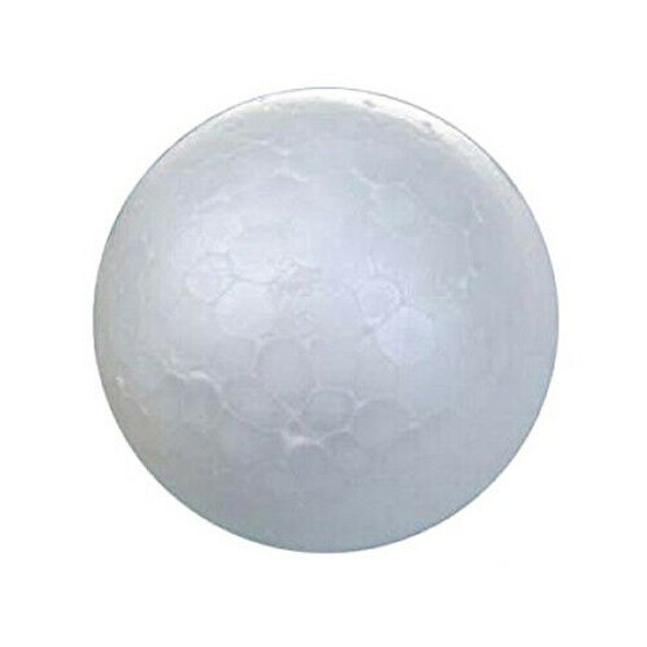 20 X White Christmas Decorative Ball Christmas Modeling Craft Styrofoam Bal