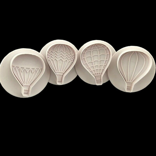 Hot Air Balloon 4 Suit Spring Press Three-Dimensional Biscuits Cut Mold Bak