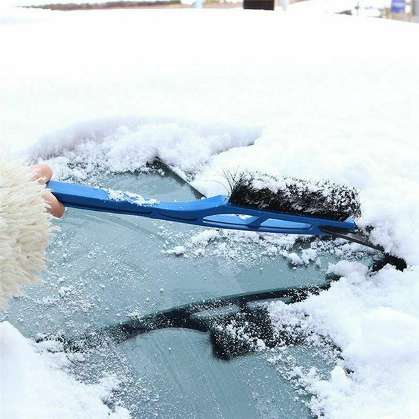 Car-styling New Car Vehicle Durable Snow Ice Scraper Snow Brush Shovel Remo