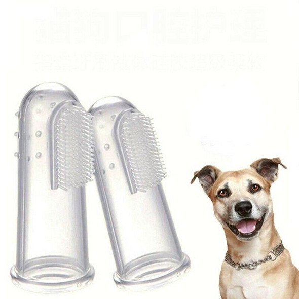 6-Pack Pet Finger Toothbrushes,Dog Tooth Cleaner Teeth Cleaning Dental Care