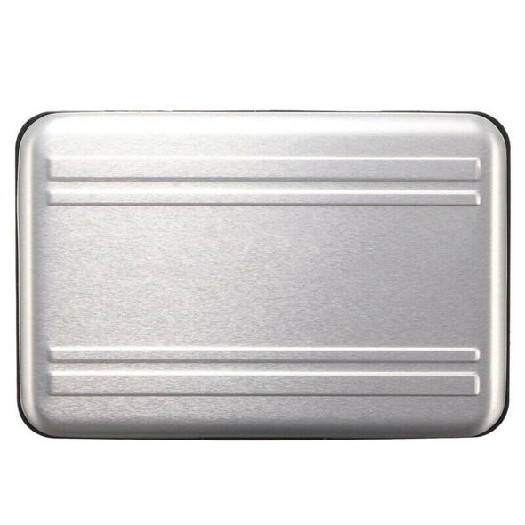 Aluminum 8 in 1 Micro-SD SDHC Memory Card Storage Carrying Case Protector S