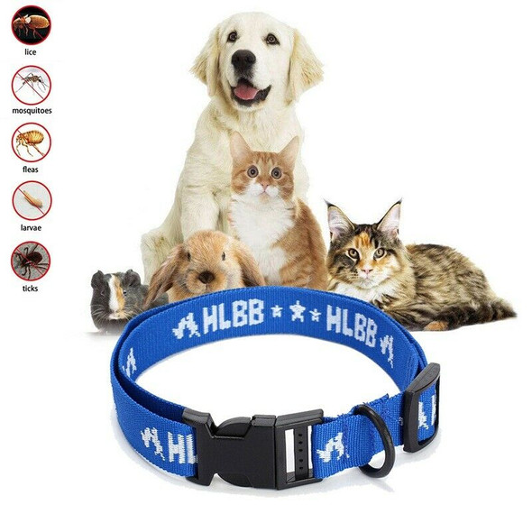 Dogs Cats for 4-Month Effective Anti Fleas & Ticks& Mosquitoes Pet Collar F