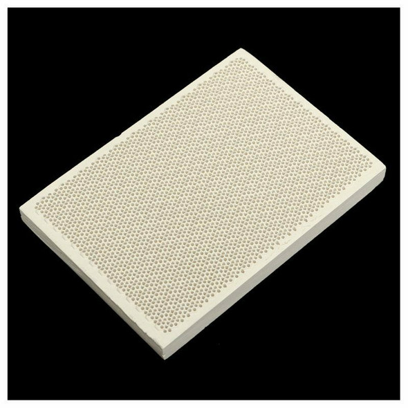 Ceramic Honeycomb Soldering Board Heating For Gas Stove Head 135x95x13mm Ne