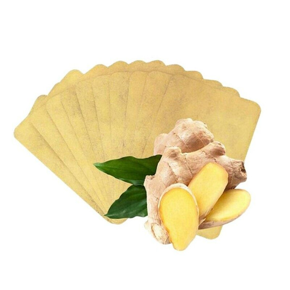 50Pcs Herbal Ginger Patch, Promote Blood Circulation, Relieve Pain and Impr