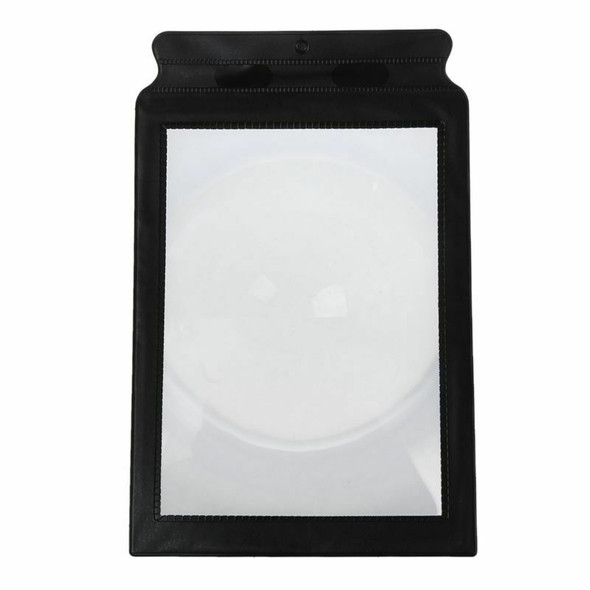 A4 Full Page 3x Magnifier Sheet Large Magnifying Glass Book Reading Aid Len