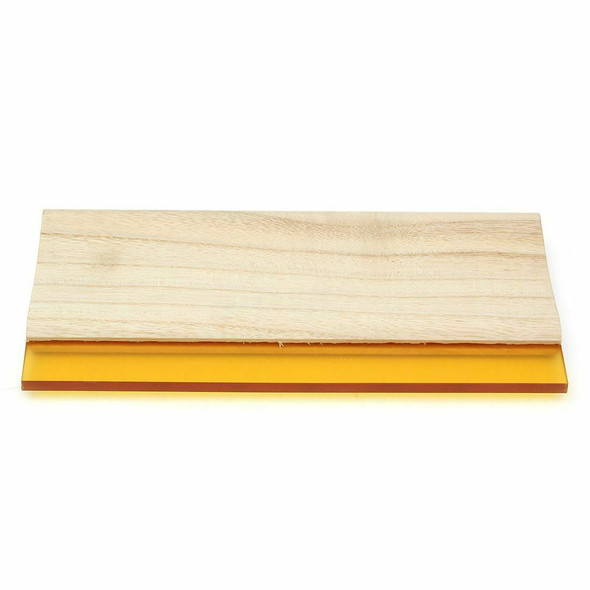 10 inch Silk Screen Printing Press Squeegee Single 70 Durometer Ink Scraper