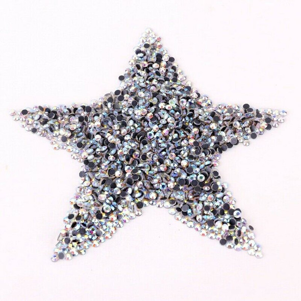 1440 colorful fusible crystal rhinestone 2, 7-2, 9mm