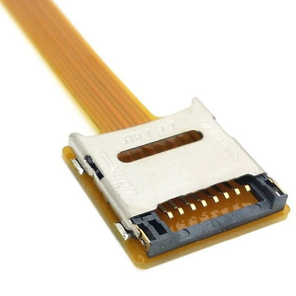 Micro-Sd Tf Memory Card Kit Male To Female Extension Soft Flat Fpc Cable Ex