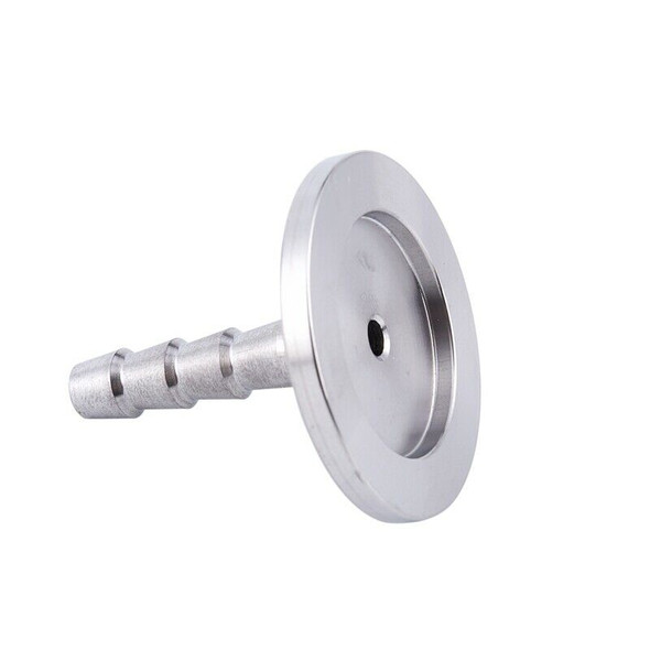Stainless Steel 304 KF25 Flange to 8mm Hose Barb Adapter for Vacuum