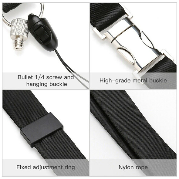 Camera Lanyard for Insta360 One X /Osmo Quick-Release Camera Strap Holder W