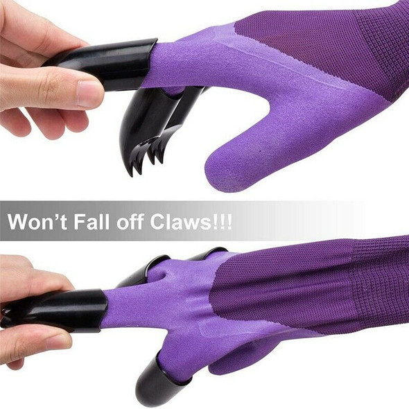 Upgrade Garden Elf Gloves with Paws Waterproof and Breathable Garden Gloves