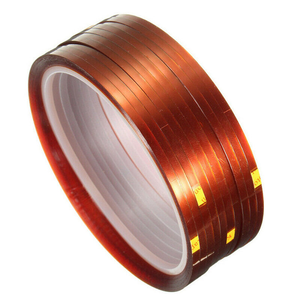 10 rolls 33mx3mm Heat Resistant Heat Temperature Adhesive Tape Sublimation