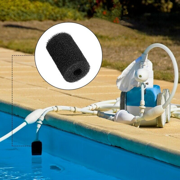 For Polaris Pool Cleaner Parts,16 Pack Sweep Hose Tail Scrubber Replacement