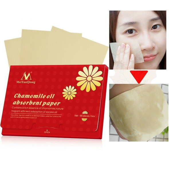 Meiyanqiong Chamomile Oil Absorbent Paper Natural Pulp Fragrant Contains A