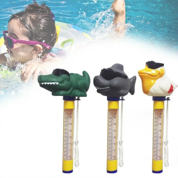 Cartoon Pool Thermometer Floating Swimming Pool Thermometer Outdoor Indoor