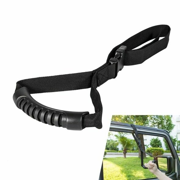 Auto Adjustable Car Handle Standing Aid Safety Handle Vehicle Support Nylon