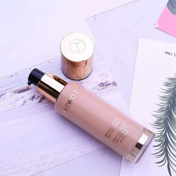 O.Two.O Liquid Foundation Invisible Full Coverage Make Up Concealer Whiteni