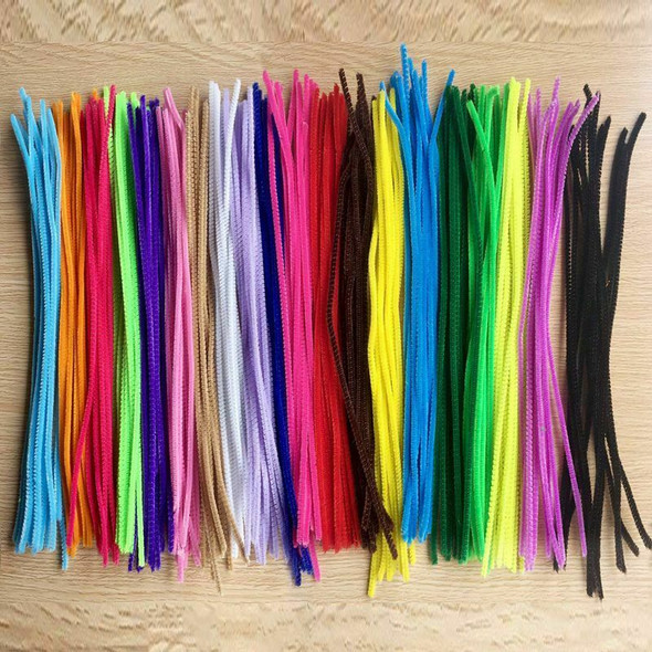 300 Pcs Pipe Cleaners Chenille Stems 60mm x 300mm, Assorted Colors for DIY