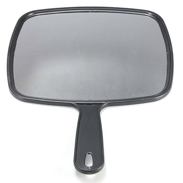 Hand Held Hair dressing Salon Barbers Hairdressers Paddle Mirror Tool with
