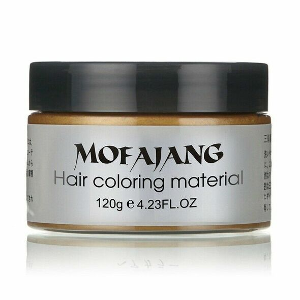 Mofajang Style Styling Products Hair Color Wax Dye One-Time Molding Paste H